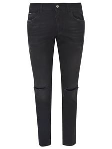 Dolce & Gabbana - Ripped jeans in black
