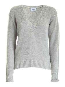 Dondup - Tricot effect pullover in grey