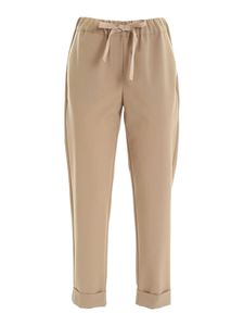 Semicouture - Buddy pants in sand color