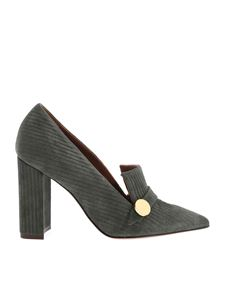 L'Autre Chose - Pointed pumps in green