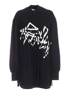 Palm Angels - Abito Fringed nero