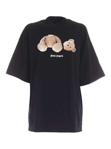 Palm Angels - Bear oversize T-shirt in black