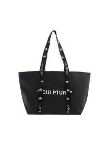 Off-White - Commercial tote small bag in black