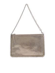 Stella McCartney - Falabella Shaggy Deer bag in gold color