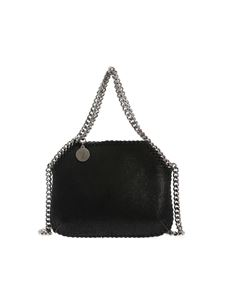 Stella McCartney - Mini Shaggy shoulder bag in black