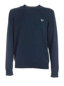 Fred Perry - Pullover Classic color petrolio