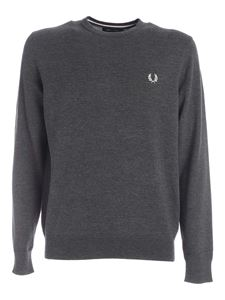 Fred Perry - Pullover Classic grigio melange