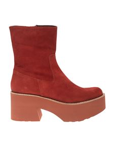 Paloma Barceló - Covil ankle boots in rust color