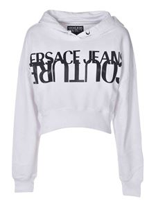 Versace Jeans Couture - Logo print sweatshirt in white