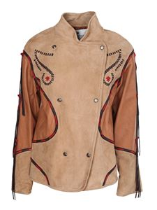 Etro - Suede jacket in multicolor
