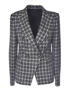 Tagliatore - J-Alicya jacket in black white and grey