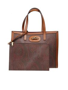 Etro - Tote bag with paisley print in multicolor