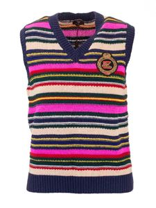 Etro - Multicolor vest with logo