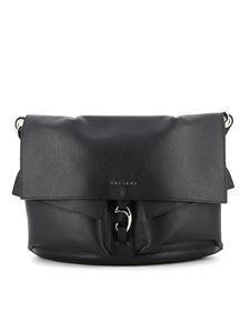 Orciani - Scout Micron leather bag in black