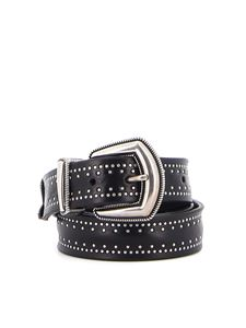Orciani - Bull Soft leather belt in black