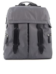 Orciani - Planet backpack with two compartments in grey