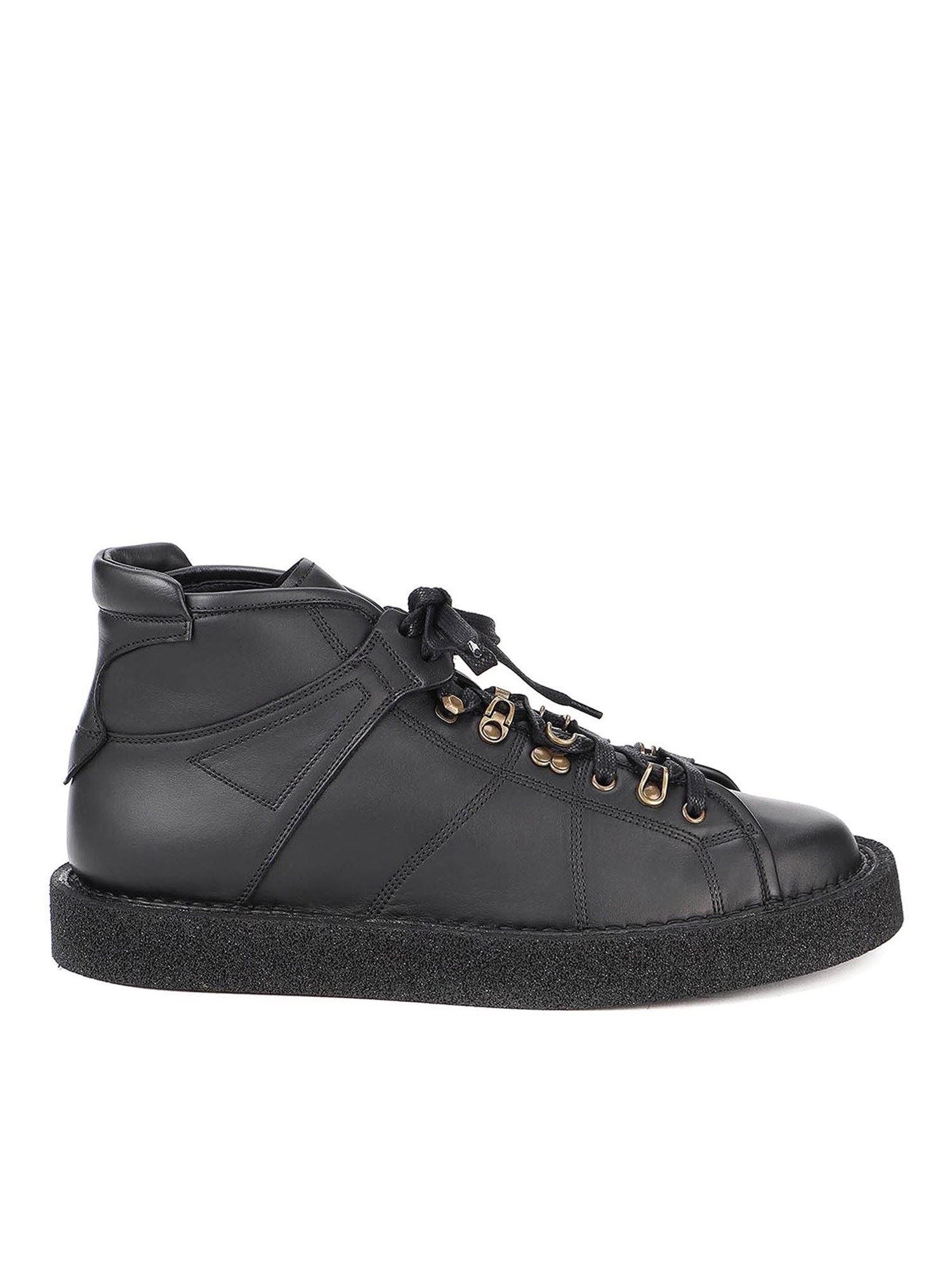 Dolce & Gabbana Leathers MODIGLIANI ANKLE BOOTS IN BLACK