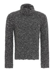 Dolce & Gabbana - Mélange wool turtleneck in grey