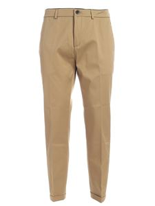 Department 5 - Pantalone beige con logo