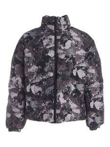 Marcelo Burlon County Of Milan - County Camou down jacket in the shades of grey