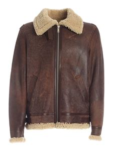 Golden Goose - Arvel jacket in beige and brown