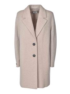 Peserico - Two-buttons coat in beige