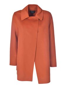 Theory - Short coat in orange color