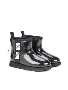 UGG - Classic Clear Mini ankle boots in black