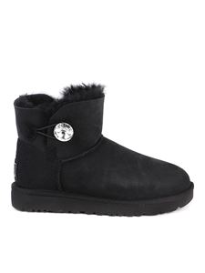 UGG - Mini Bailey Button booties in black