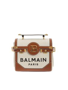 Balmain - Shoulder bag beige and brown