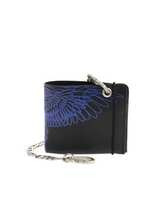 Marcelo Burlon County Of Milan - Pictorial wings wallet in black