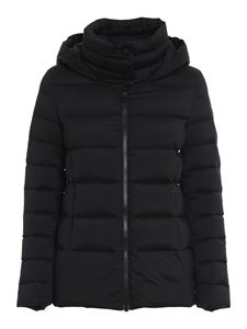 Colmar Originals - Matte nylon puffer jacket in black