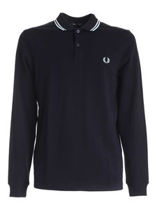 Fred Perry - Polo Twin Tipped blu