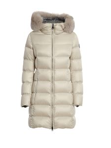 Colmar Originals - Quilted tech fabric padded coat in beige