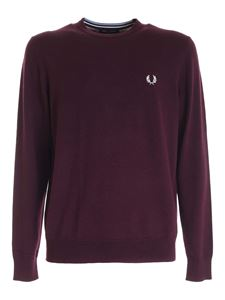 Fred Perry - Pullover Classic color prugna