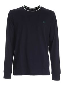 Fred Perry - T-shirt Twin Tipped blu