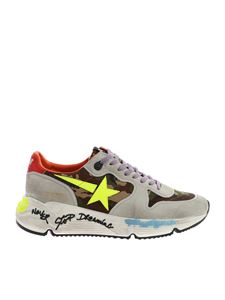Golden Goose - Running sneakers in grey and camouflage