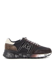 Premiata - Lander lace-up sneakers in black