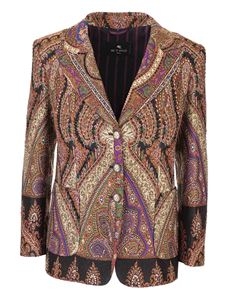 Etro - Paisley jacket in brown
