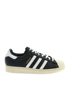 Adidas Originals - Sneakers Superstar nere e bianche