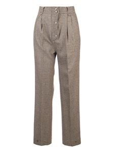 Etro - High-rise pants in beige