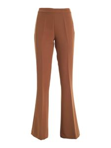 Paolo Fiorillo - Flared pants in brown