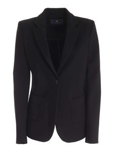 Paolo Fiorillo - Notch lapels jacket in black