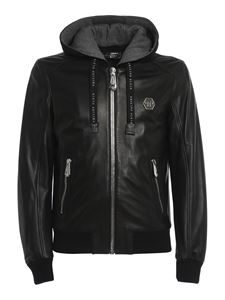 Philipp Plein - Leather jacket in black