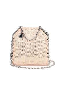 Stella McCartney - Falabella Tiny crossbody bag in pink
