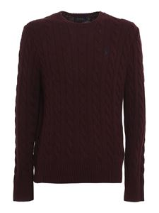 POLO Ralph Lauren - Cable-knit sweater in red
