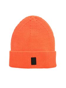 Marcelo Burlon County Of Milan - Cross Patch beanie in orange fluo