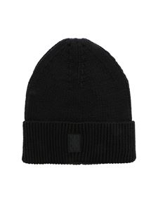 Marcelo Burlon County Of Milan - Logo patch beanie in black