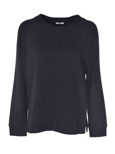 Peserico - Blouse featuring micro-beads in grey