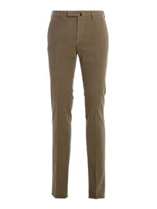 Incotex - Soft cotton pants in grey